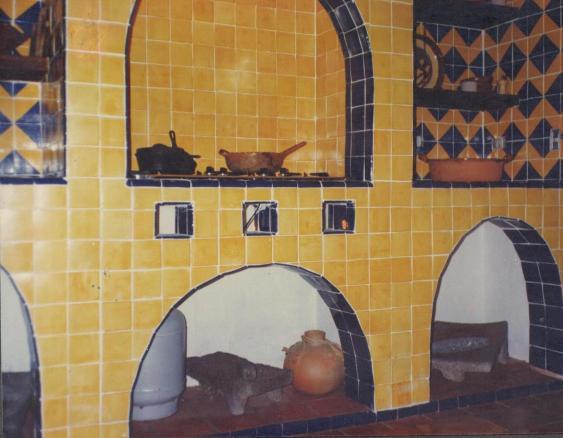 Talavera cer mica y azulejos for Inodoro de azulejo de pared